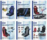 Light Weight classic Full Reclining Racing Seats / Car Sports Seats