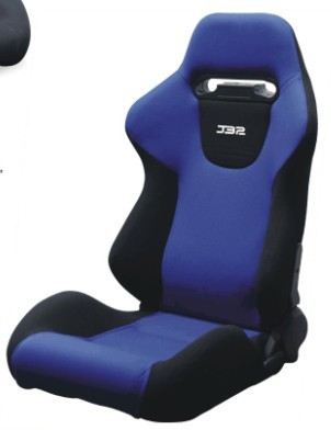 Wide Sport Racing Seats With High Elastic Sponge Filler / Adjustable Bucket Seats